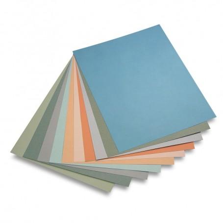 Assortimento tonalità medie - 50 x 65 cm - 160 g/mq - 20 fogli