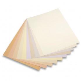 Assortimento tonalità chiare - 50 x 65 cm - 160 g/mq - 20 fogli
