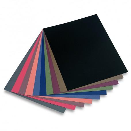 Assortimento tonalità scure - 50 x 65 cm - 160 g/mq - 20 fogli