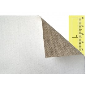 Tela lino 100% - prezzo al metro lineare - 465 g/mq - altezza 210 cm -