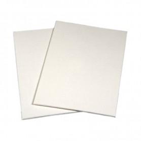Cartone telato Standard 40x50 - tela risvoltata sul bordo