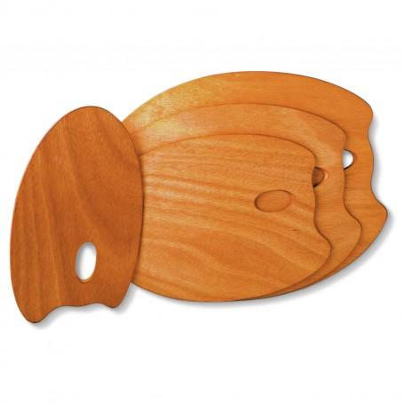 Tavolozza di legno (ovale) Mabef M/O 35x45