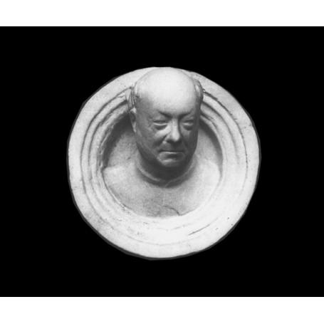 Medaglione con autoritratto di Ghiberti - Rilievo - 106g