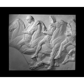Cavalli e cavalieri - Rilievo - 116a
