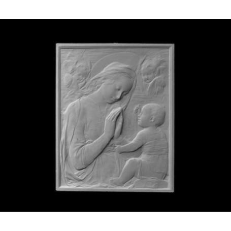 Madonna con bambino - Bassorilievo - 119c