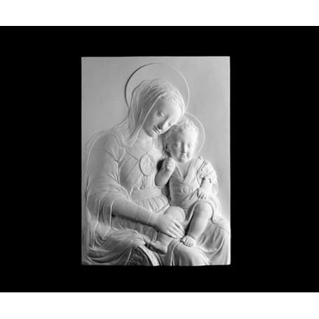 Vergine con figlio - Rilievo - 153c