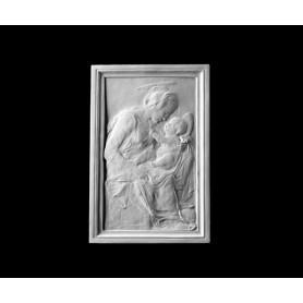 Madonna con bambino - Bassorilievo - 158c