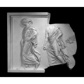 Frammento con figure femminili - Rilievo - 179a