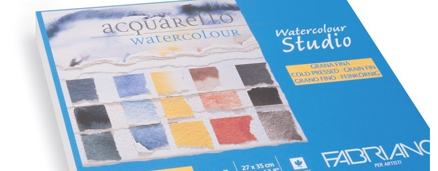 Fabriano watercolour studio